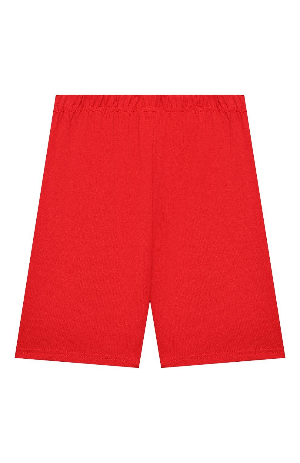 Женская хлопковая пижама LA PERLA красного цвета, арт. 70072/2A-6A | Фото 5