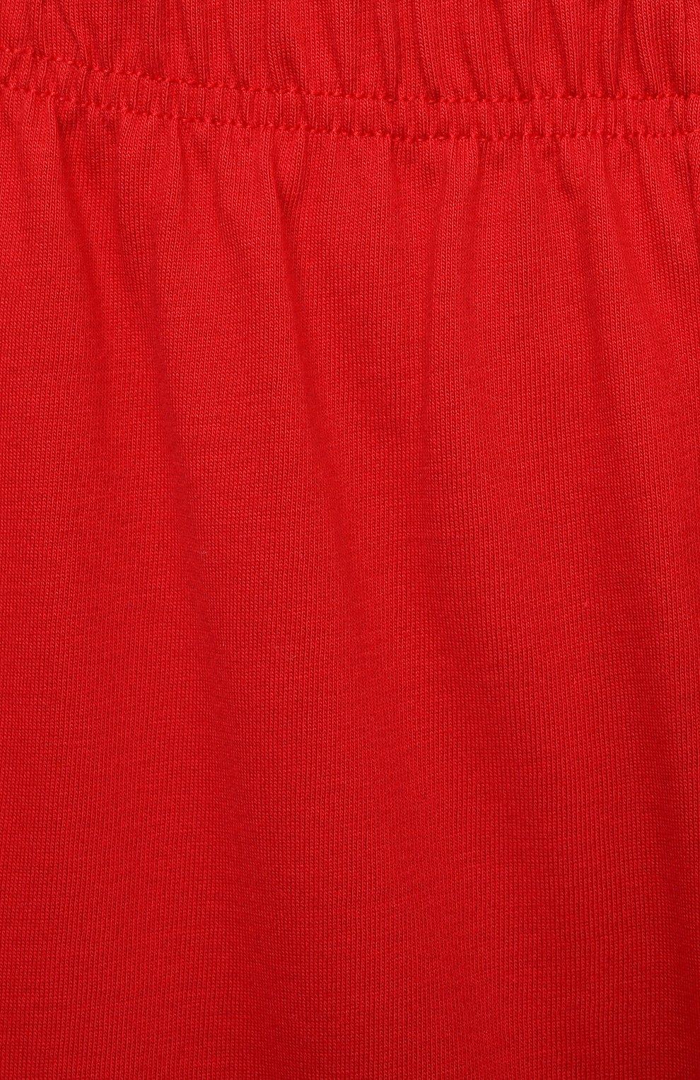 Женская хлопковая пижама LA PERLA красного цвета, арт. 70072/2A-6A | Фото 7