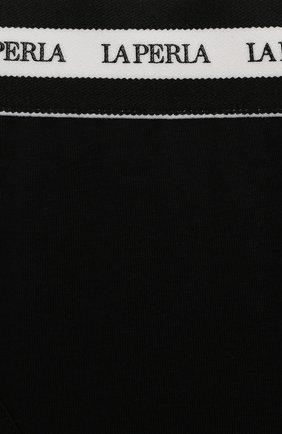 Детские трусы-слипы LA PERLA черного цвета, арт. 70137/2A-6A | Фото 3