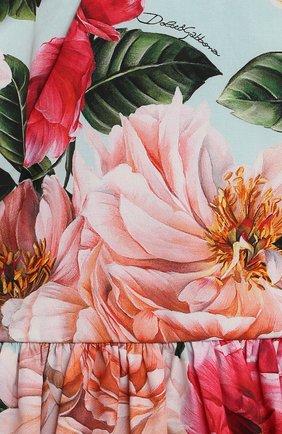 Женский комплект из платья и шорт DOLCE & GABBANA разноцветного цвета, арт. L21DQ6/HS5H5   Фото 3