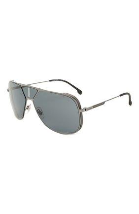 Женские солнцезащитные очки CARRERA серого цвета, арт. CARRERA LENS3 KJ1 | Фото 1