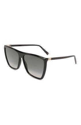 Женские солнцезащитные очки GIVENCHY черного цвета, арт. 7181 807 | Фото 1