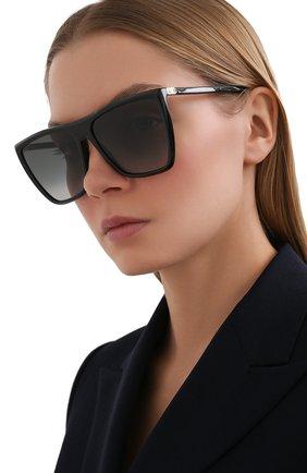 Женские солнцезащитные очки GIVENCHY черного цвета, арт. 7181 807 | Фото 2
