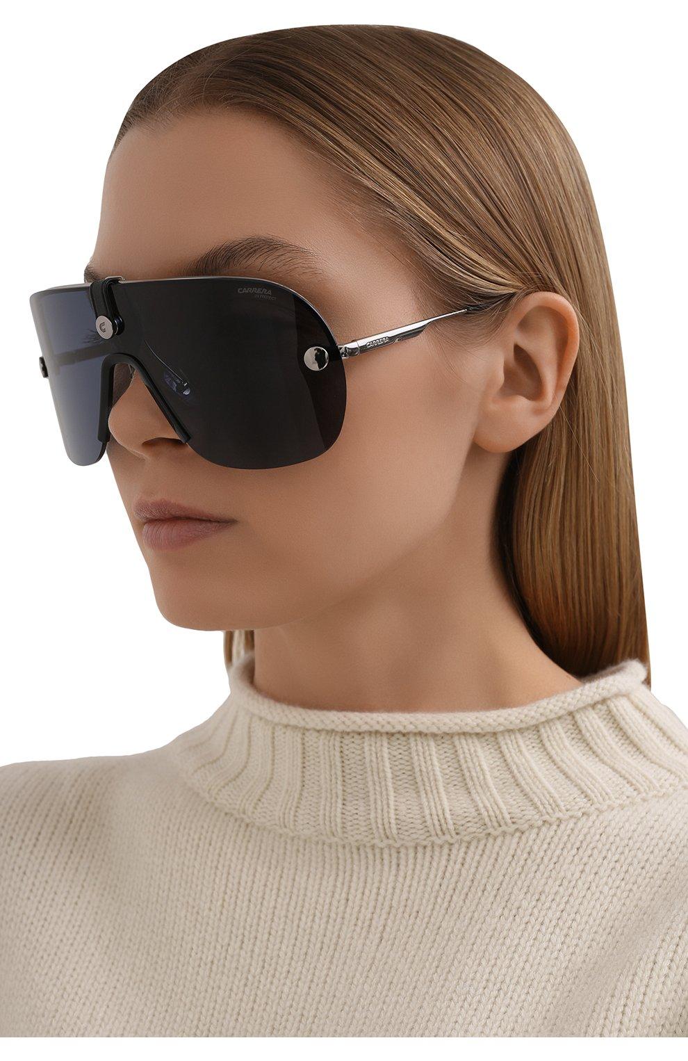 Женские солнцезащитные очки CARRERA черного цвета, арт. CA EPICA II 6LB | Фото 2