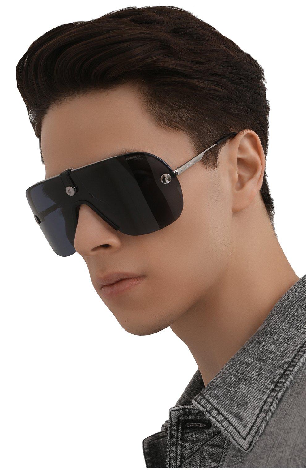 Женские солнцезащитные очки CARRERA черного цвета, арт. CA EPICA II 6LB | Фото 3