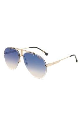 Женские солнцезащитные очки CARRERA синего цвета, арт. CARRERA 1032 2M2 | Фото 1