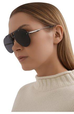 Женские солнцезащитные очки CARRERA темно-серого цвета, арт. CARRERA 1032 V81 | Фото 2