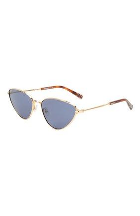 Женские солнцезащитные очки MISSONI синего цвета, арт. MIS0053 000 | Фото 1