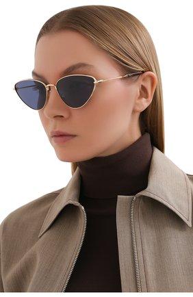 Женские солнцезащитные очки MISSONI синего цвета, арт. MIS0053 000 | Фото 2