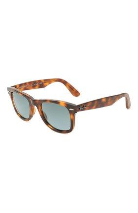 Женские солнцезащитные очки RAY-BAN коричневого цвета, арт. 4340-63973M   Фото 1