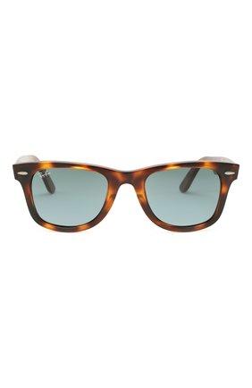 Женские солнцезащитные очки RAY-BAN коричневого цвета, арт. 4340-63973M   Фото 4