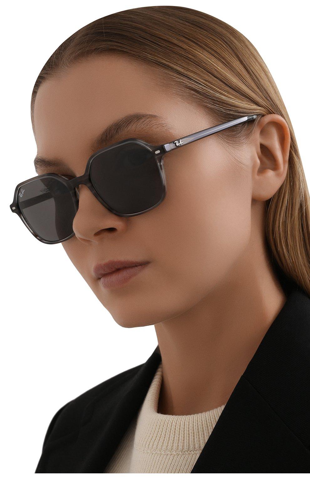 Женские солнцезащитные очки RAY-BAN серого цвета, арт. 2194-1314B1 | Фото 2