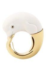Женские кольцо BIBI VAN DER VELDEN бесцветного цвета, арт. R20170657 | Фото 1