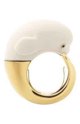 Женские кольцо BIBI VAN DER VELDEN бесцветного цвета, арт. R20170657 | Фото 2