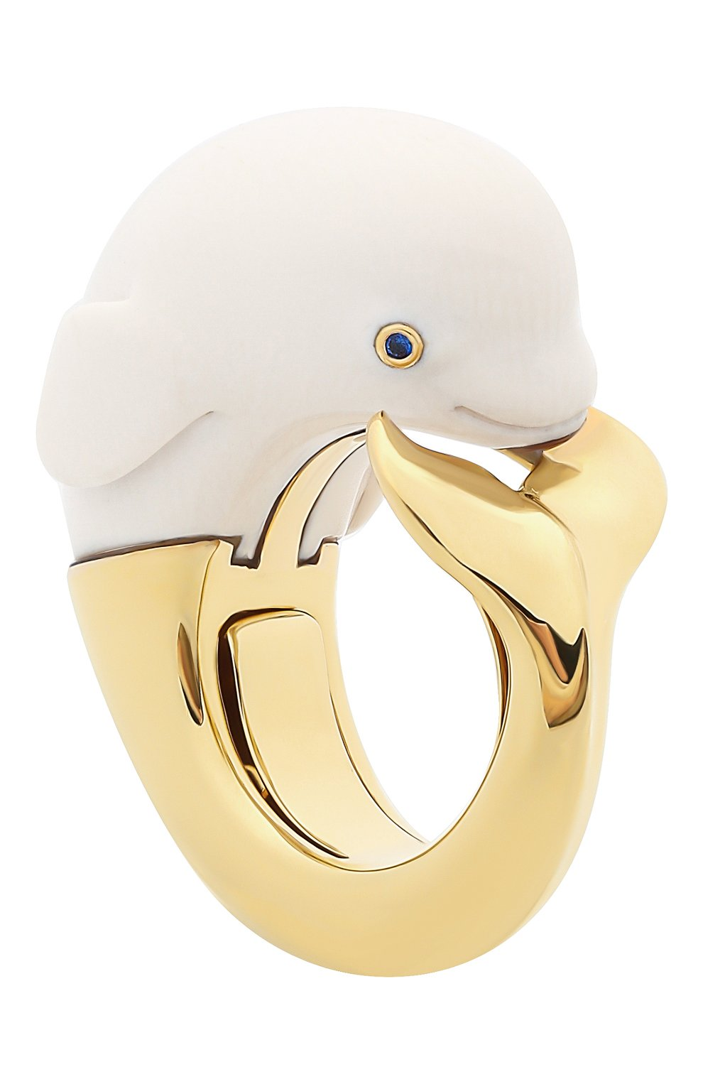 Женские кольцо BIBI VAN DER VELDEN бесцветного цвета, арт. R20170657 | Фото 3