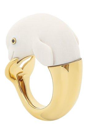 Женские кольцо BIBI VAN DER VELDEN бесцветного цвета, арт. R20170657 | Фото 4