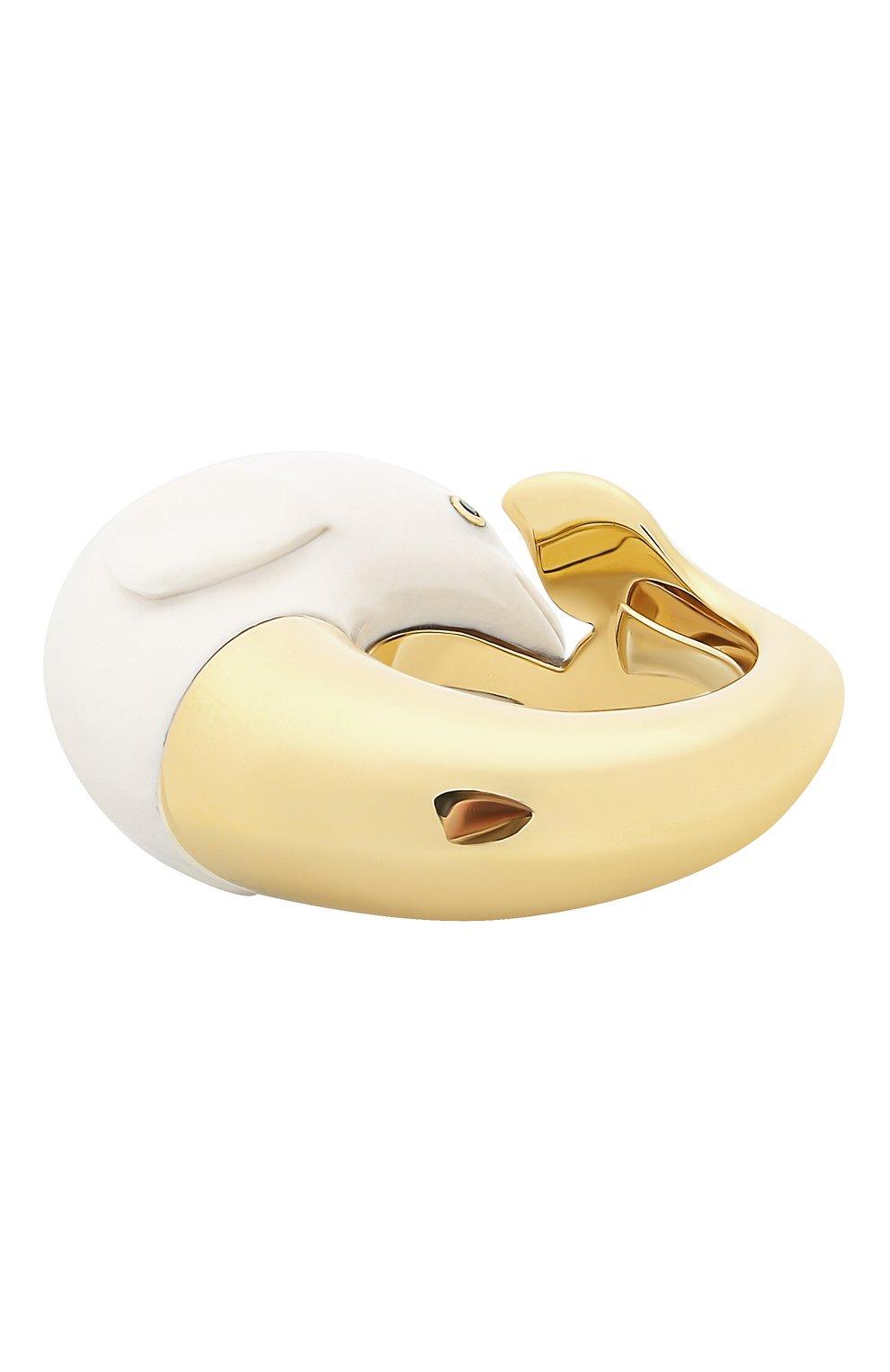 Женские кольцо BIBI VAN DER VELDEN бесцветного цвета, арт. R20170657 | Фото 6