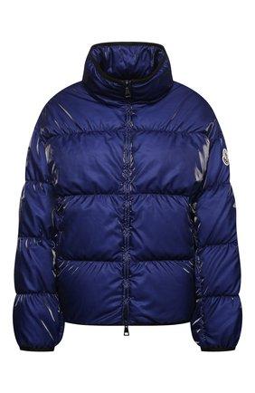 Женская пуховая куртка grenit MONCLER темно-синего цвета, арт. G1-093-1A52S-60-54AQ4 | Фото 1