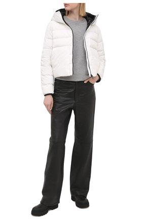 Женская пуховая куртка anwar MONCLER белого цвета, арт. G1-093-1A54K-10-53132 | Фото 2