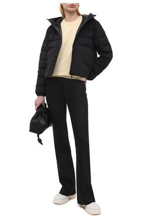 Женская пуховая куртка anwar MONCLER черного цвета, арт. G1-093-1A54P-10-53132 | Фото 2