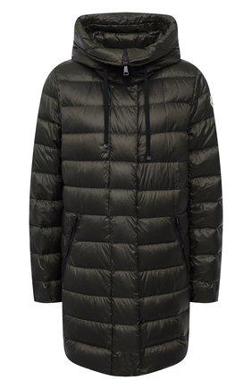 Женская пуховая куртка MONCLER хаки цвета, арт. G1-093-1B559-00-5396Q | Фото 1