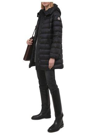 Женская пуховая куртка MONCLER черного цвета, арт. G1-093-1B559-00-5396Q | Фото 2