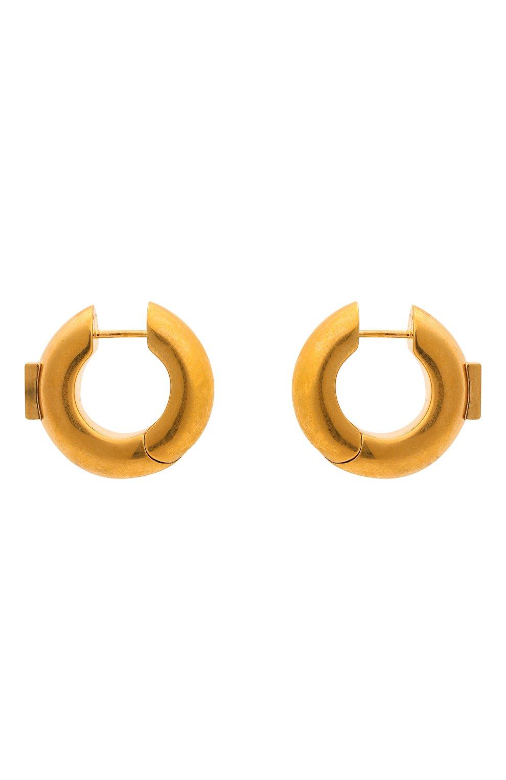 Женские серьги BALENCIAGA золотого цвета, арт. 618683/TZ99G | Фото 1