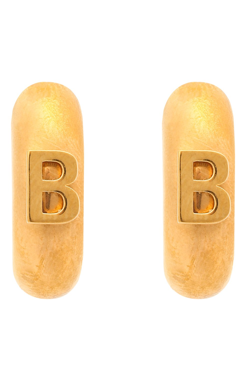 Женские серьги BALENCIAGA золотого цвета, арт. 618683/TZ99G | Фото 4