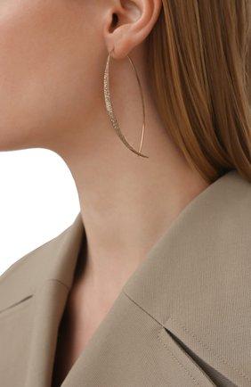 Женские серьги BRUNELLO CUCINELLI золотого цвета, арт. M0RW9LA26 | Фото 2