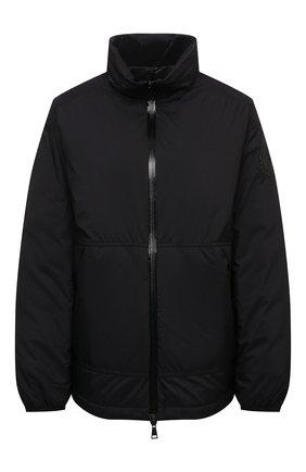 Женская пуховая куртка menchib MONCLER черного цвета, арт. G1-093-1A53L-10-53333   Фото 1