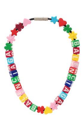 Женское колье toy BALENCIAGA разноцветного цвета, арт. 644625/TZX4S | Фото 1