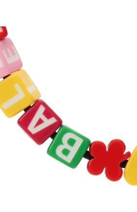 Женское колье toy BALENCIAGA разноцветного цвета, арт. 644625/TZX4S | Фото 2