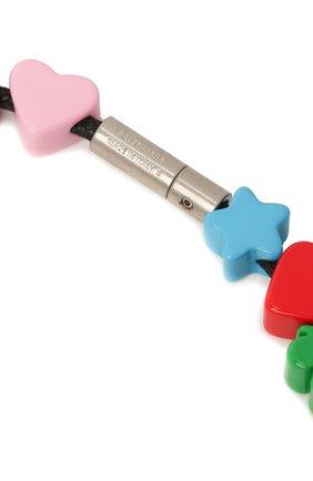 Женское колье toy BALENCIAGA разноцветного цвета, арт. 644625/TZX4S | Фото 3