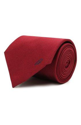 Мужской шелковый галстук BRIONI бордового цвета, арт. 062H00/0943C   Фото 1