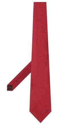 Мужской шелковый галстук BRIONI бордового цвета, арт. 062H00/0943C   Фото 2