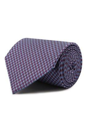 Мужской шелковый галстук BRIONI бордового цвета, арт. 062H00/P0449   Фото 1