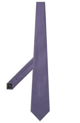 Мужской шелковый галстук BRIONI бордового цвета, арт. 062H00/P0449   Фото 2
