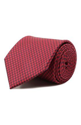 Мужской комплект из галстука и платка BRIONI красного цвета, арт. 08A900/P0451   Фото 1