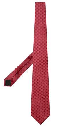 Мужской комплект из галстука и платка BRIONI красного цвета, арт. 08A900/P0451   Фото 2
