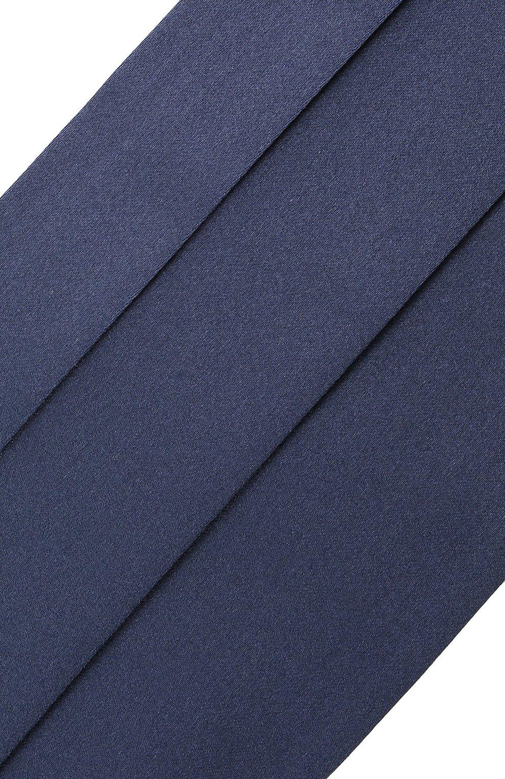 Мужской комплект из галстука-бабочки и камербанда CANALI темно-синего цвета, арт. 55/HJ01047 | Фото 7