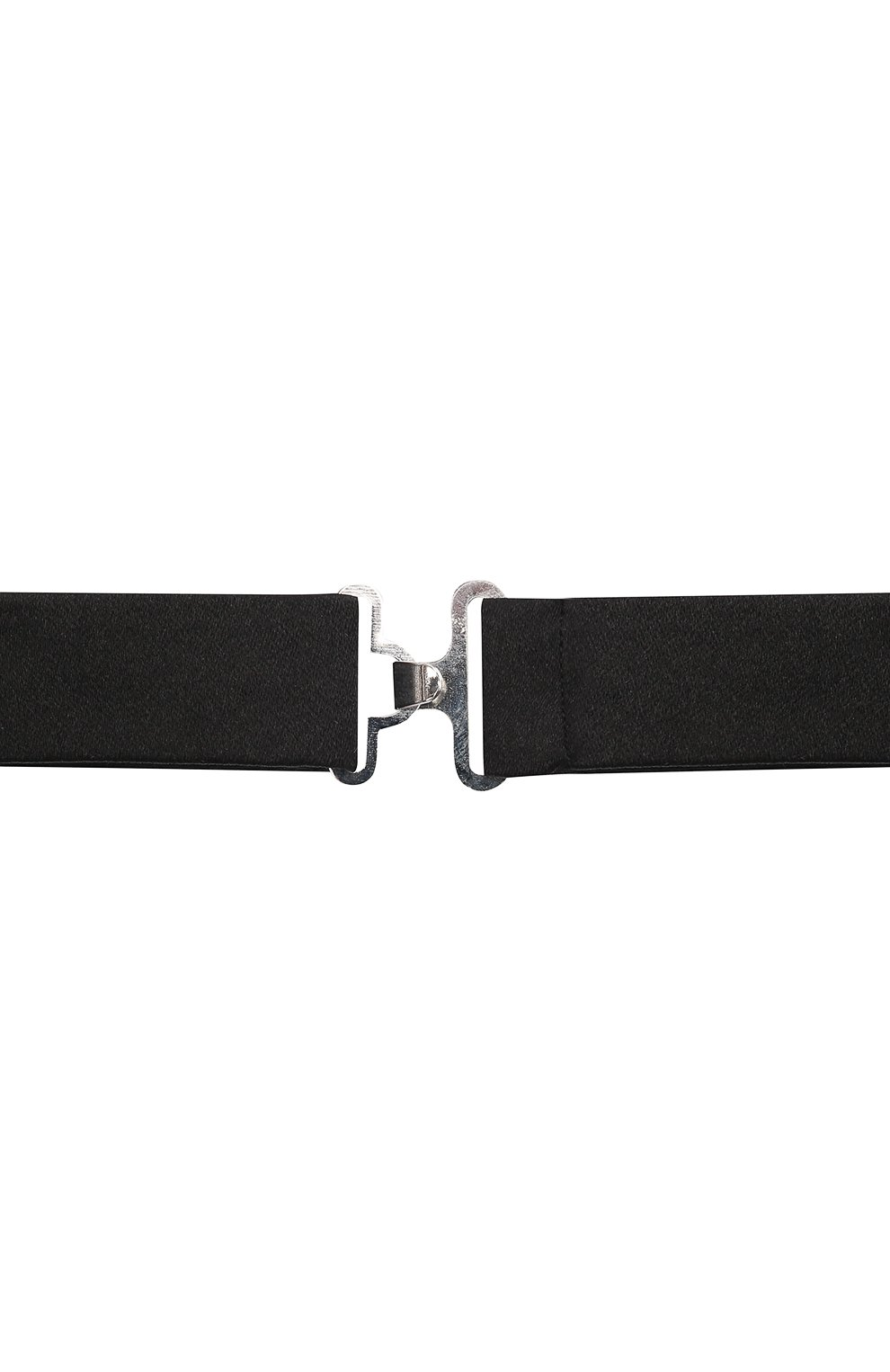 Мужской комплект из галстука-бабочки и камербанда CANALI черного цвета, арт. 55/HJ00040 | Фото 5