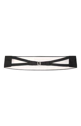 Мужской комплект из галстука-бабочки и камербанда CANALI черного цвета, арт. 55/HJ00040 | Фото 7