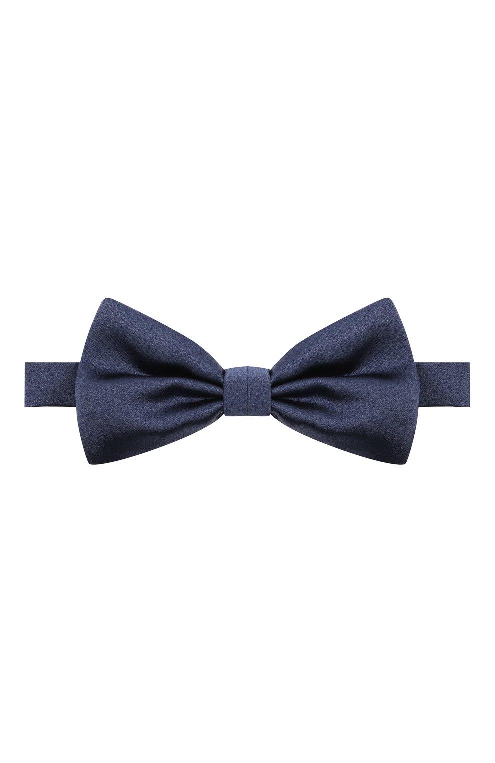 Мужской комплект из галстука-бабочки и камербанда CANALI темно-синего цвета, арт. 45/HJ01047 | Фото 2