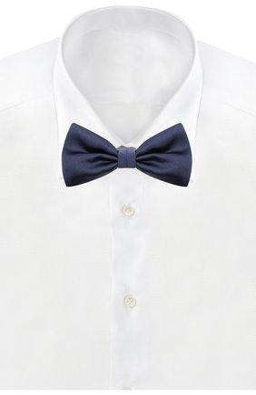 Мужской комплект из галстука-бабочки и камербанда CANALI темно-синего цвета, арт. 45/HJ01047 | Фото 3