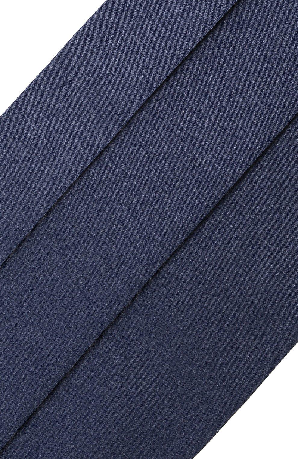 Мужской комплект из галстука-бабочки и камербанда CANALI темно-синего цвета, арт. 45/HJ01047 | Фото 7