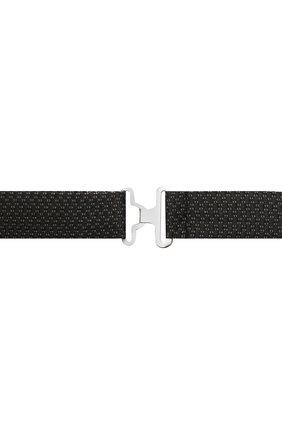 Мужской шелковый галстук-бабочка CANALI черного цвета, арт. 02/HJ03189   Фото 3