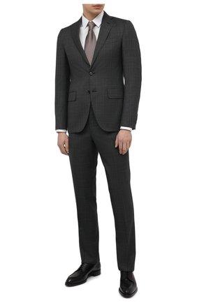 Мужской шерстяной костюм LUCIANO BARBERA серого цвета, арт. 5R2014/25219 | Фото 1