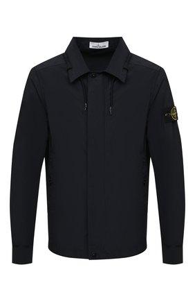 Мужская куртка STONE ISLAND темно-синего цвета, арт. 741541022 | Фото 1