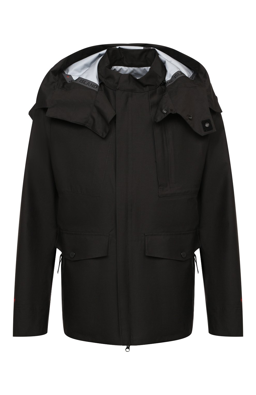 Мужская куртка STONE ISLAND черного цвета, арт. 7415442X1   Фото 1