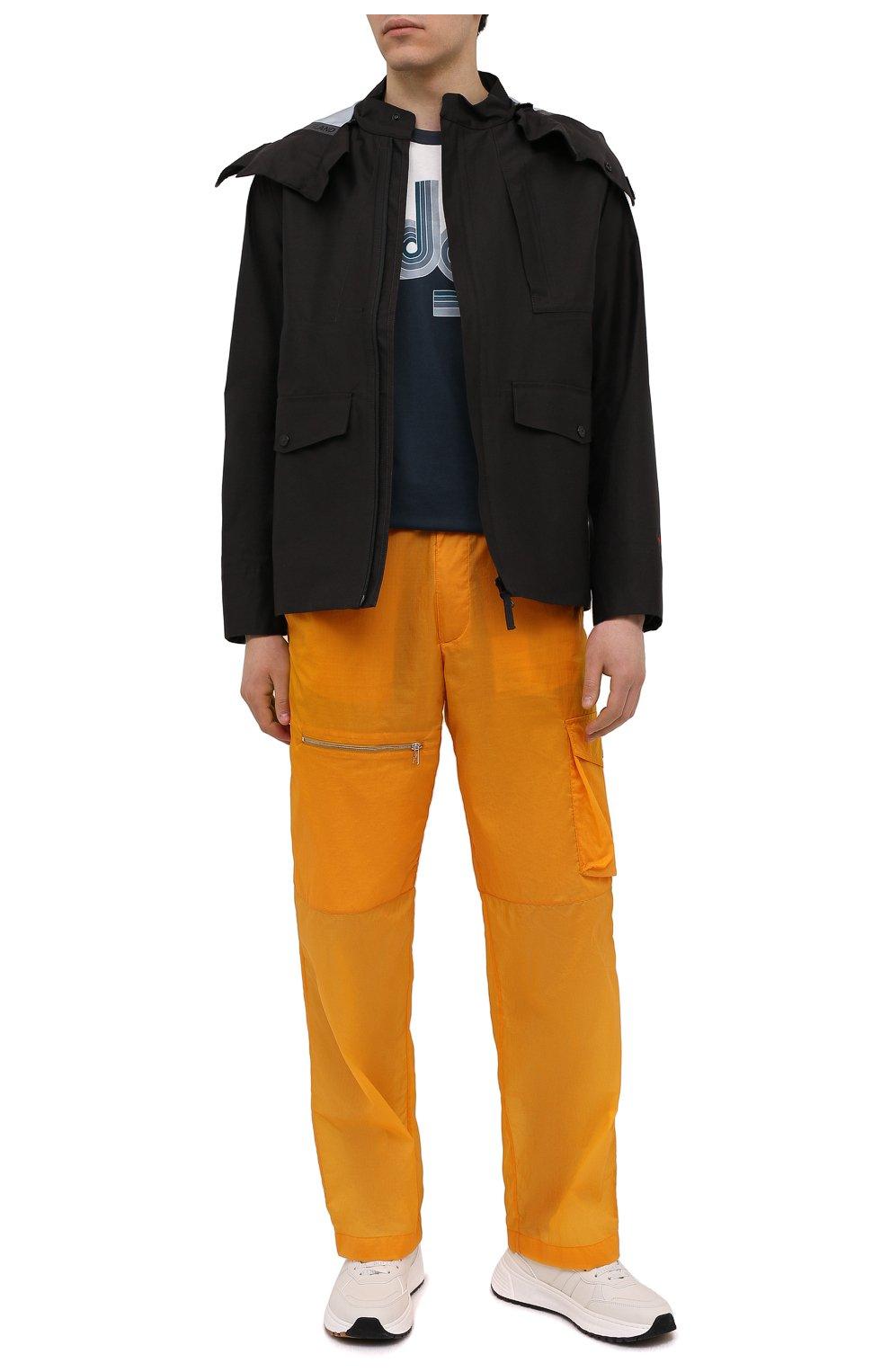 Мужская куртка STONE ISLAND черного цвета, арт. 7415442X1   Фото 2